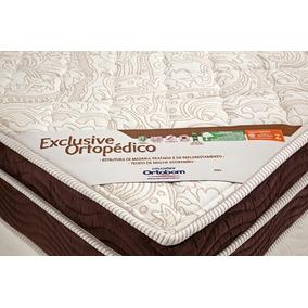 Colchão Exclusive Ortopédico Casal 138x188x27 Ortobom