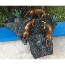 Lrc Escultura De Toros, Arte En Bronce,