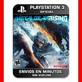 Metal Gear Rising Revengeance Ps3 Digital Elegi Reputacion
