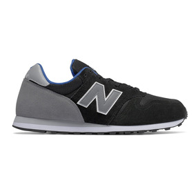 Tenis Caballero Lifestyle Casual 373 Negro/gris New Balance