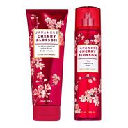 Japanese Cherry Blossom Fragancia Y Crema Corporal Bath Body