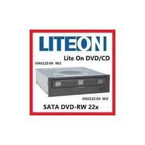 Quemador Interno Lite-on Ihas122-04 Negro Multi Dvd/cd Sata