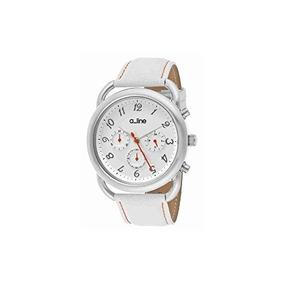 A_line Mujer Al-80012-02-wh-sset Maya Reloj De Acero Inoxida