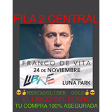 Entradas Franco De Vita Fila 2 Vip Central Mercadolider Gold