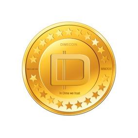 1000 Dimecoins - Mesmo Mercado Bitcoin, Dogecoin.