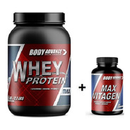 Whey Protein 1 Kg + Max Vitagen Body Advance