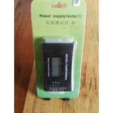 Tester Probador Fuentes Poder Digital 20/24 Pines Sata - Atx