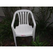 Cadeira Poltrona De Plástico Goyana -unica 140kg