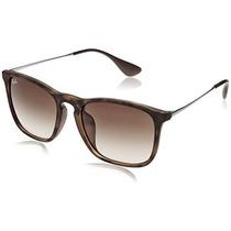 Gafas Ray-ban Chris Rb 4187f Sunglasses [havana Rubber, 54