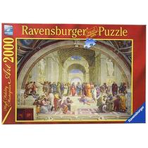 Ravensburger 16669 X 2000 Piezas - Escuela De Atenas