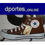 All Star Hi (lona, Chocolate, Nº 38 Nuestro) Original Brasil