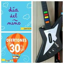 Guitarra P/guitar Hero 3 Ps2 Inalambrica 10 Botones