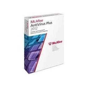 Antivirus/mcafee/2012/basico/1pc/1año/seguridad/software