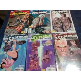 Lote De Comics Dc Batman Y Superman