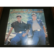 Lp Leandro E Leonardo, Cadê Você, Disco Vinil 1991, Seminovo