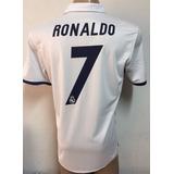 Nueva Camiseta De Real Madrid Titular 2016-2017 Ronaldo 7