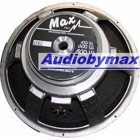 Woofer18 Pulgadas Maxpro 800watts El Mejor Sublow