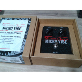 Pedal Voodoo Lab Micro Vibe - Novo! Made In Usa