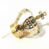 Coroa Para Imagem De Nossa Senhora Aparecida Folheada Ouro