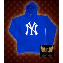 Blusa Moleton New York Yankees Ny Mcd Nikesb Tamnhos Grandes