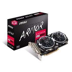 Tarjeta De Video Msi Vga Radeon Rx 570 4gb 4g Oc Gamin Eth
