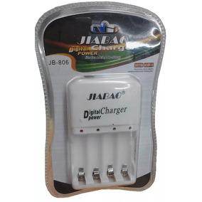 Cargador De Pilas / Baterias Recargables Aa Y Aaa 4 Ranuras