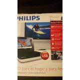 Dvd Portatil Philips Pd7030 Nuevo Con Control Remoto Lcd 7
