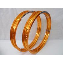 Aro Aluminio Three Heads 18x185+18x215 Cores Titan Ybr Fan