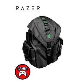 Mochila Razer Mercenary, Negro/verde, Nylon, Impermeable, No