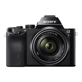Sony A7 Camara Reflex Montura E Full Frame 24mp + 28-70mm