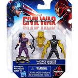 Marvel Capitán América Civil War - Hawkeye Vs Black Panthe
