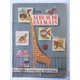 Álbum De Figurinhas Animais Editora Edigrat São Paulo Antigo