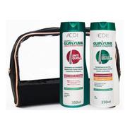 Kit Guanxuma Shampoo Condicionador Redução Quebra E Queda