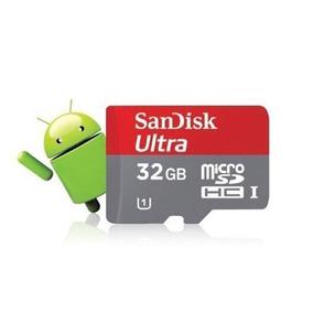 Tarjeta De Memoria Sandisk Android 32gb