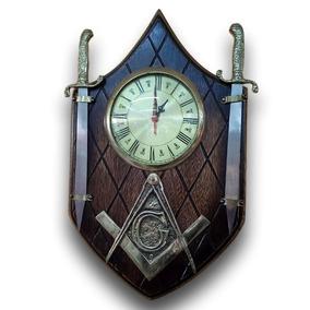 9cfc8163bce Relogio Parede Em Madeira Maciça - Relógios no Mercado Livre Brasil