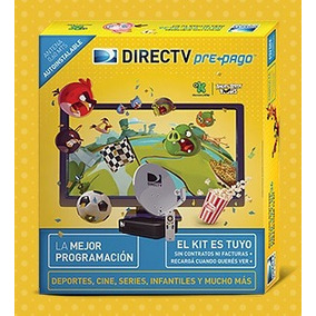 Kit Directv Prepago Antena 60 Cm - Recarga Cuando Queres Ver