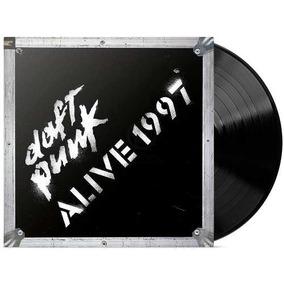 Daft Punk Alive 1997 Disco Vinilo Lp Nuevo Sellado Crosley