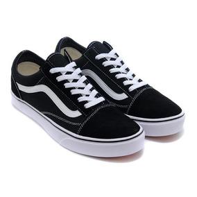 Tênis Vans Old Skool Preto Branco Ft Original + Frete Grátis. R  189 765f2d92385