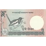 Billete De Bangladesh 2 Taca 1989 - Sin Circular