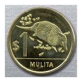 1 Peso Uruguayo ( Mulita)