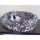 Camas Para Perros Gatos Mascotas Acolchados Bolsos Talla M