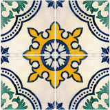 Vetores Azulejos Português Ladrilhos Cerâmica Corel Vetor