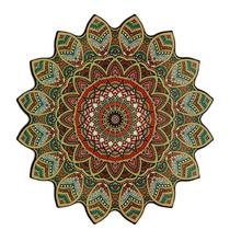 Mandala P/ Decoração De Paredes Samsara 38cm Em Mdf