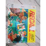 Juego De Mesa Recall Año 1962 Completo Usa Boardgame Retro