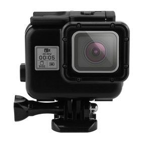 Carcasa Gopro 5 Para Buceo 45mts Version Black.