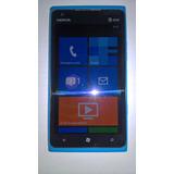 Celular Nokia Lumia 900 Azul Em Perfeito Estado.