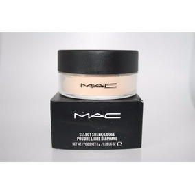 Polvo Mac Translucido Select Sheer Loose