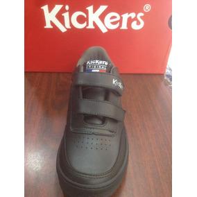 Zapatos Kickers 100% Cuero Originales Uso Escolar O Casual
