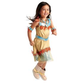 Disfraz Niña Pocahontas Disney Store Vestido