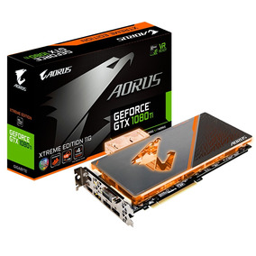 Placa De Video Gigabyte Aorus Gtx 1080 Ti 11gb Wb Xtreme